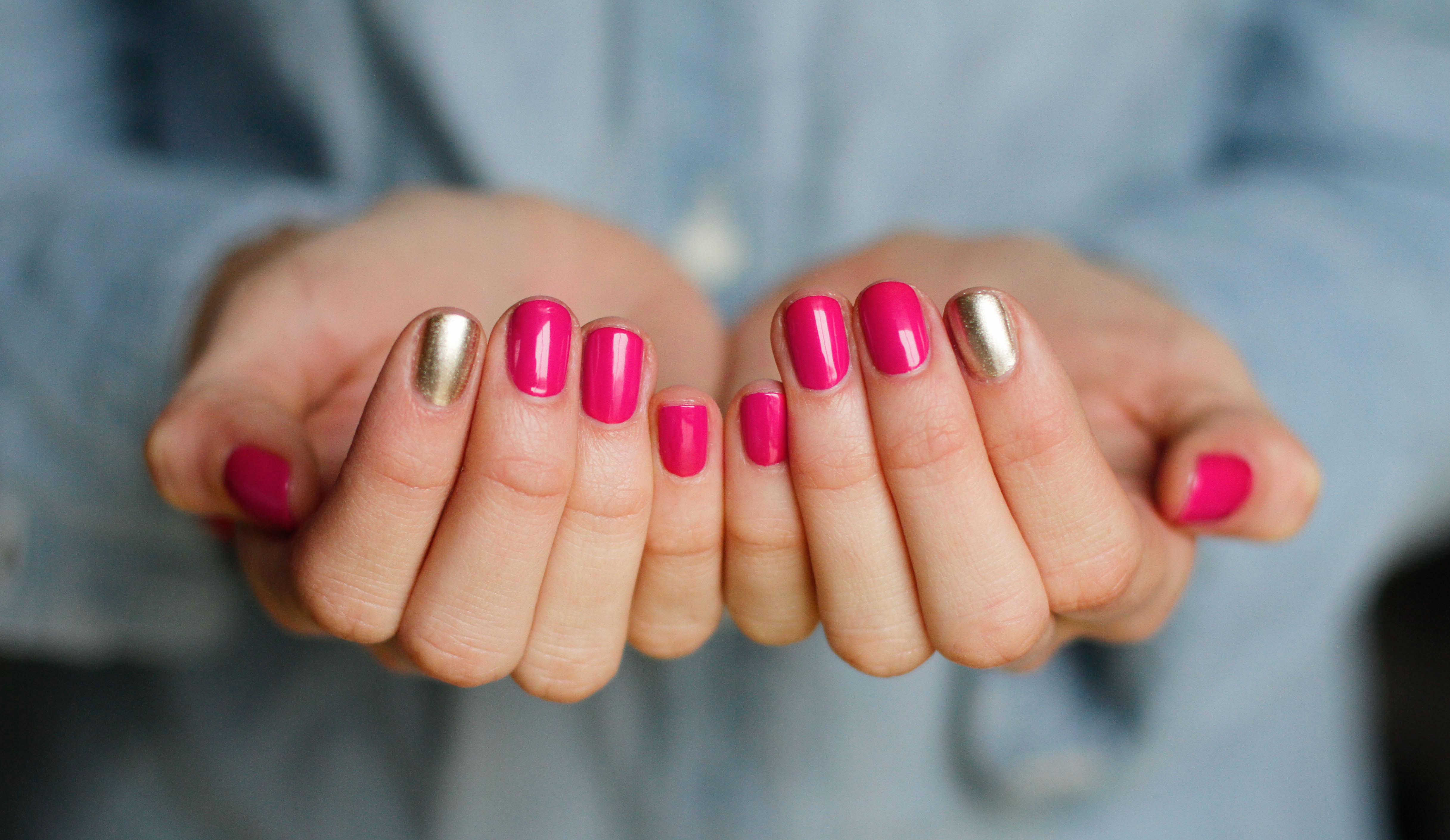 Weekly Color Inspiration {Hot Pink & Gold} «