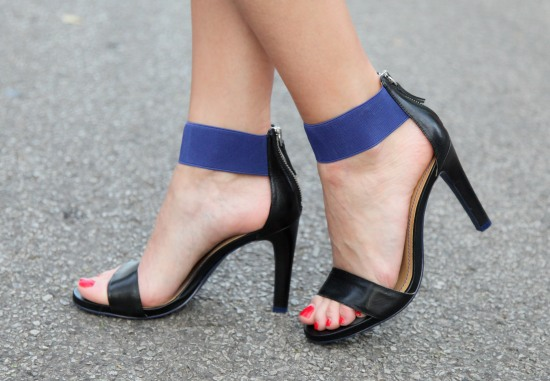 Nice West Ankle Strap Heels