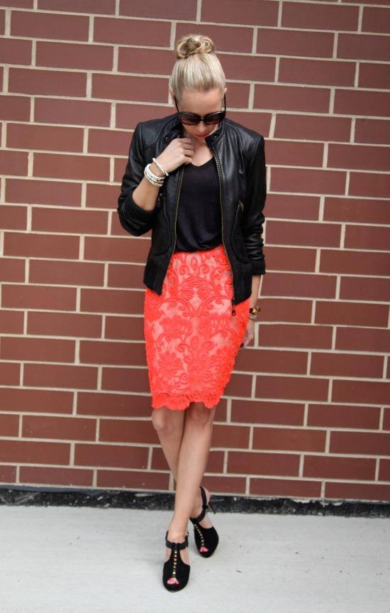 Miss Renaissance Neon Skirt