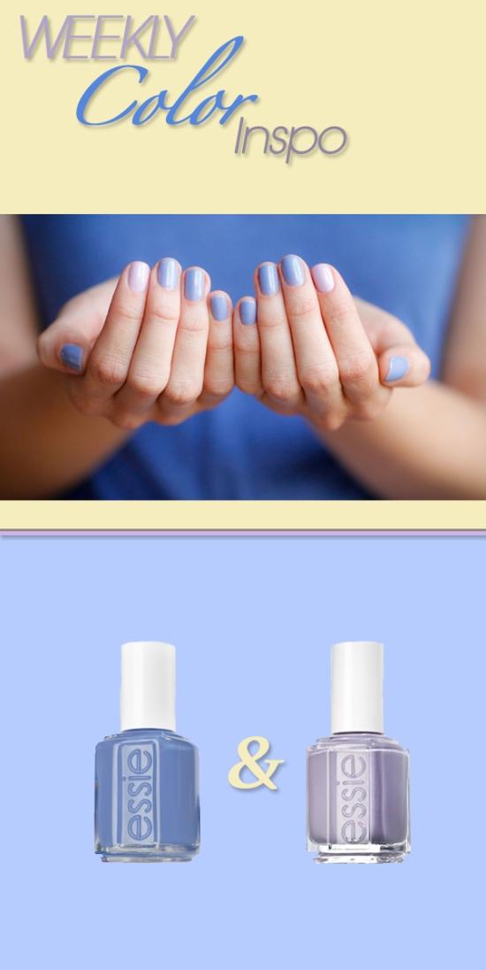 Miss Renaissance Lavender & Lilac Manicure
