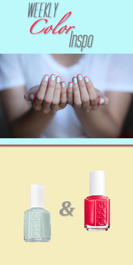 Miss Renaissance Neon French Manicure