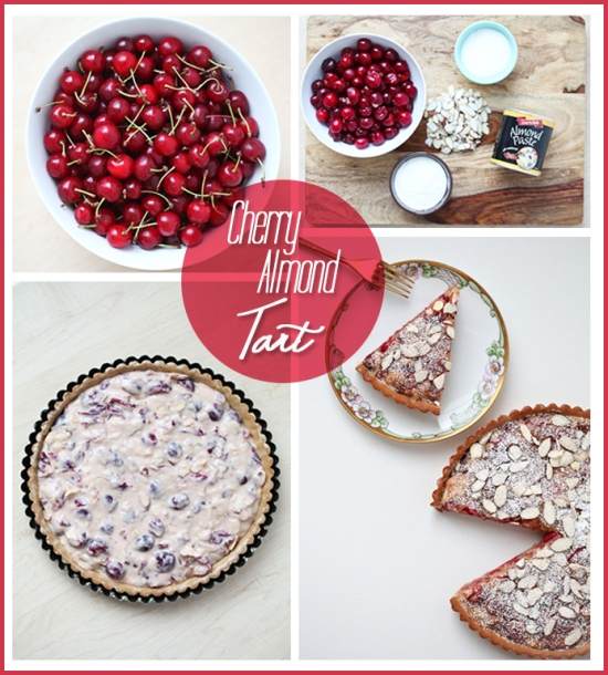 Miss Renaissance Cherry Almond Tart