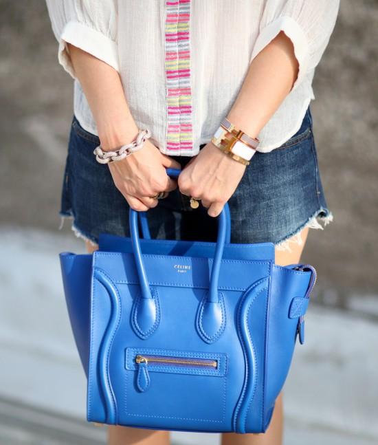 Miss Renaissance Blue Celine