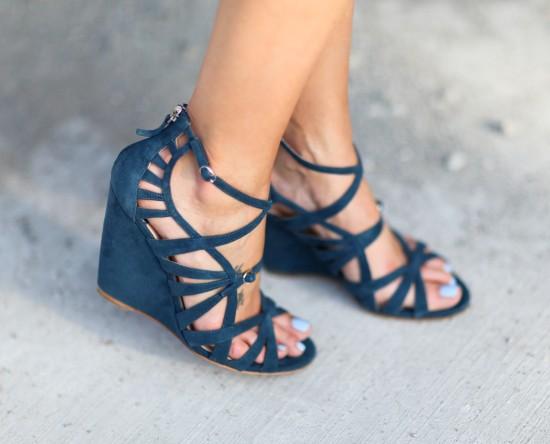 Miss Renaissance Wedge Heels