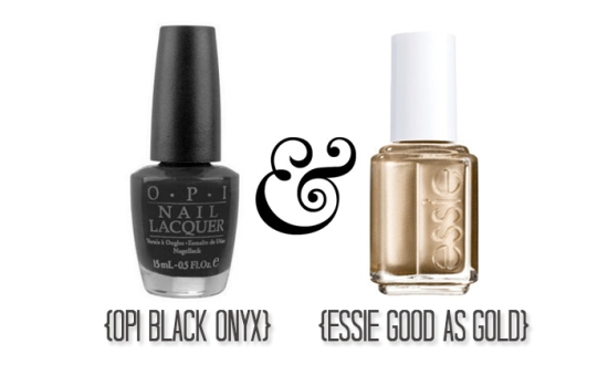 Miss Renaissance Black & Gold Color Inspiration