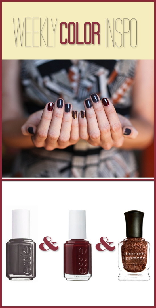 Miss Renaissance Manicure Color Inspiration