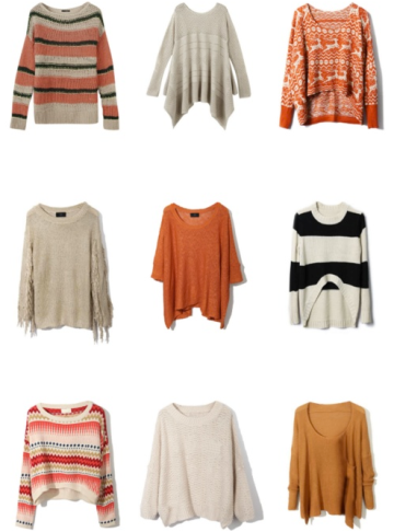 Miss Renaissance Fall Sweaters