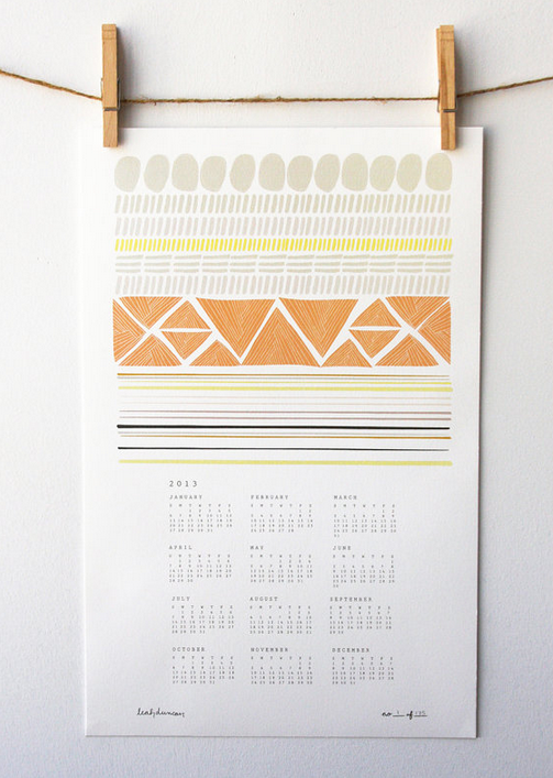2013 Calendar Roundup by Miss Renaissance