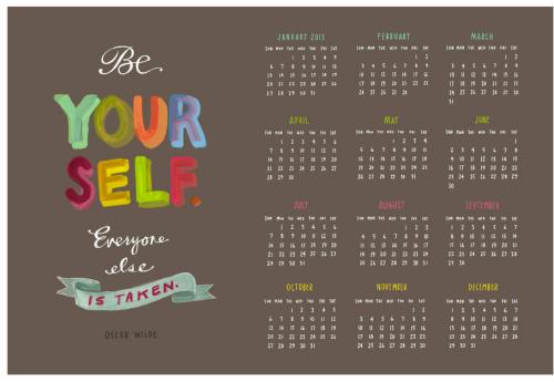 Calendar 2013 Roundup