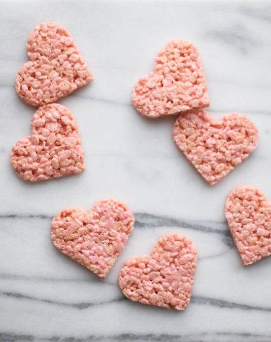 Valentine's Rice Crispy Treats by Miss Renaissance