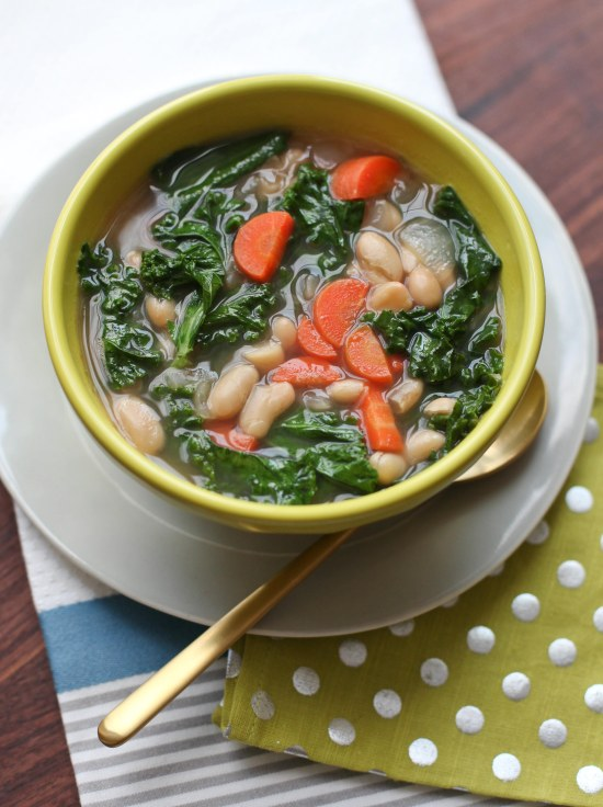 Kale & White Bean Soup by Miss Renaissance