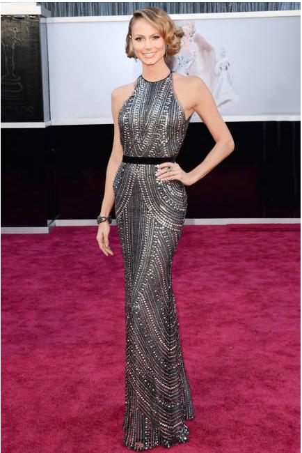 Oscars 2013 Stacy Keibler