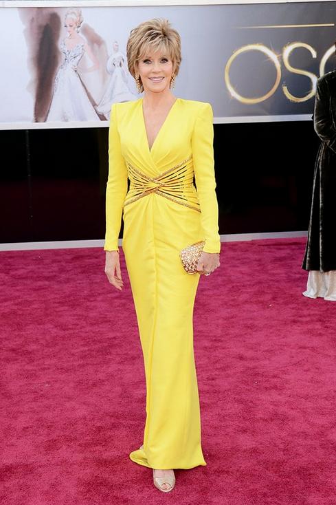 Jane Fonda Oscars 2013