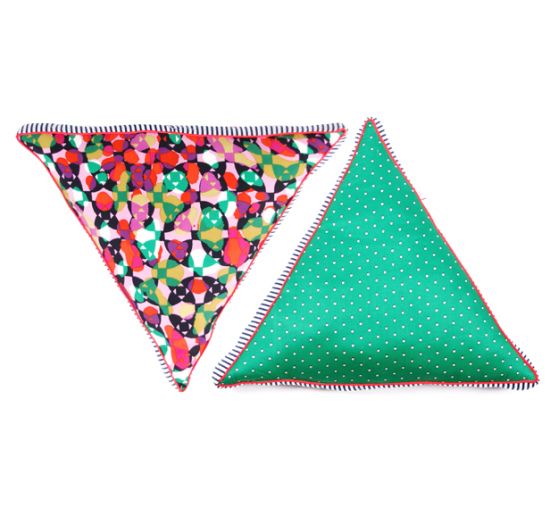 Baba Souk Triangle Pillow