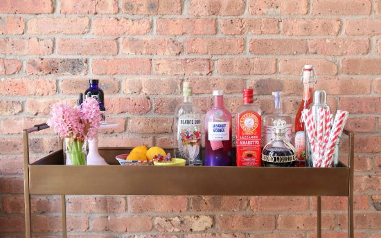 Bar Cart Style by Miss Renaissance