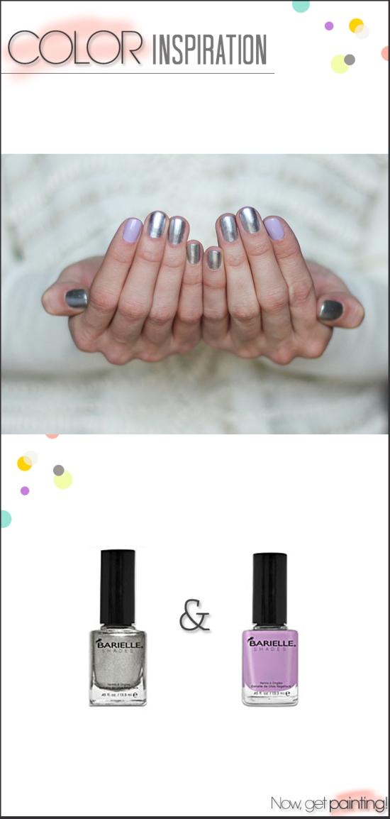 Moon Scape Manicure by Miss Renaissance