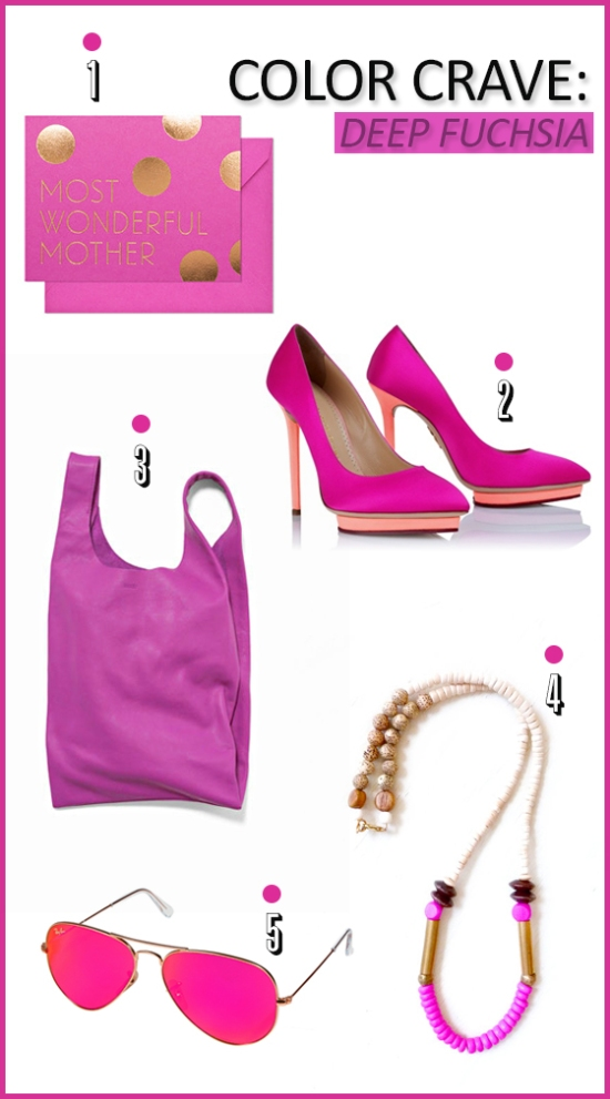 Color Crave - Deep Fuchsia