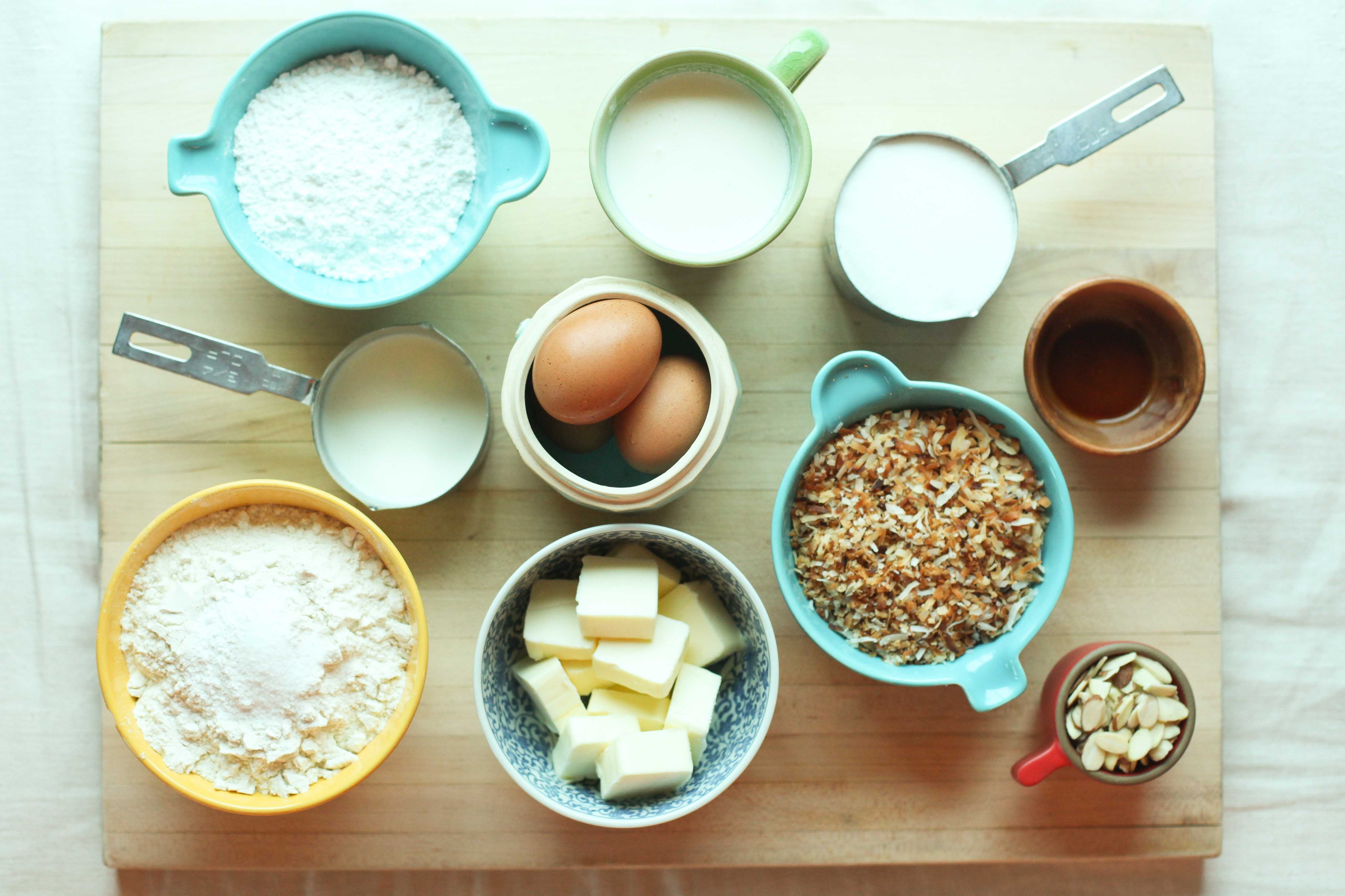 Baking for What are the ingredients for making cake